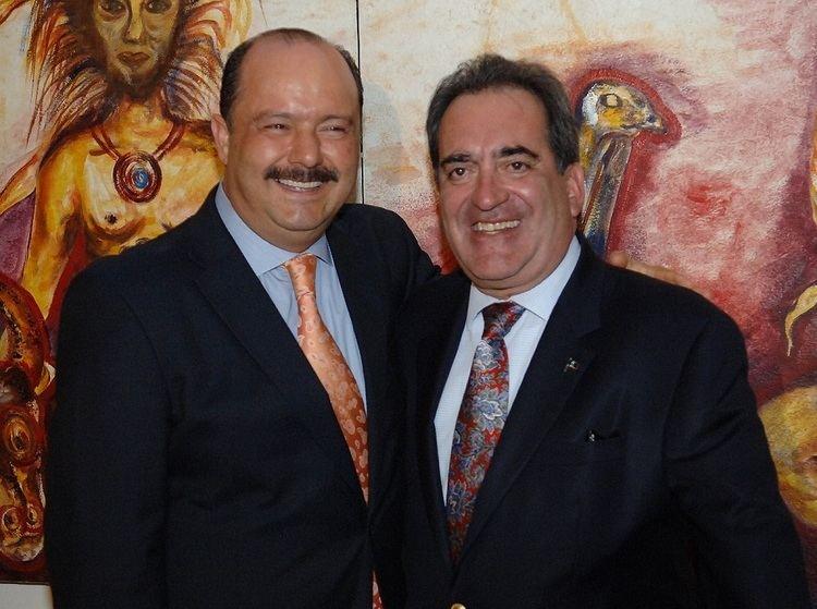 Carlos Lozano de la Torre Asiste Duarte a 2 Informe de su homlogo de Aguascalientes Carlos