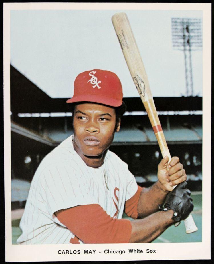 Carlos May Lot Detail 1972 Circa Chicago White Sox Player Photos