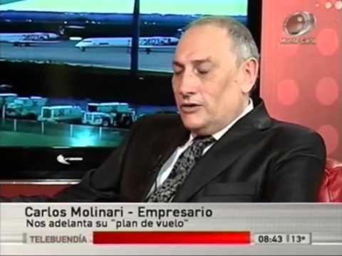 Carlos Molinari Entrevista al empresario argentino Carlos Molinari interesado en la