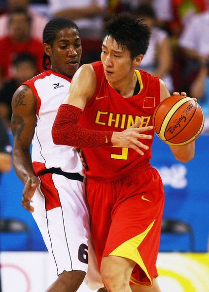 Carlos Morais (basketball) Sun Yue and Carlos Morais Photos Olympics Day 6