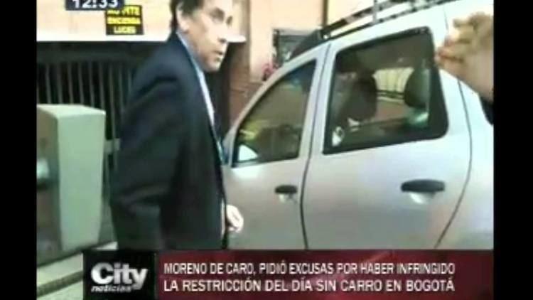 Carlos Moreno de Caro CityNoticias Moreno de Caro pidi excusas por infraccin cometida