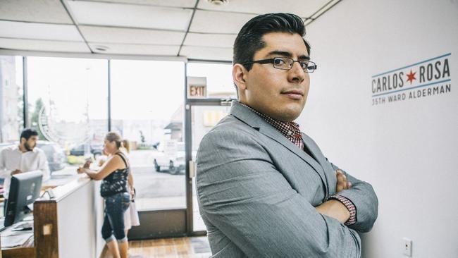 Carlos Ramirez-Rosa Ald Carlos RamirezRosa biography redeyechicagocom