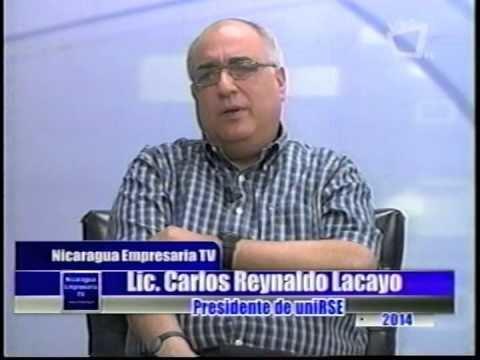 Carlos Reynaldo Lacayo NICARAGUA EMPRESARIA X FORO RSE PARTE 2 CARLOS REYNALDO LACAYO 28