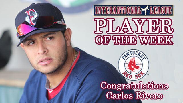 Carlos Rivero (baseball) Carlos Rivero Honored as IL Player of the Week MiLBcom