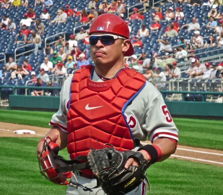 Carlos Ruiz (baseball) Carlos Ruiz baseball Wikipedia the free encyclopedia
