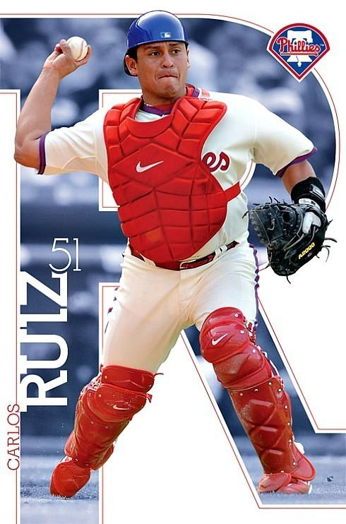 Carlos Ruiz (baseball) Philadelphia Phillies MLB Baseball Player Carlos Ruiz
