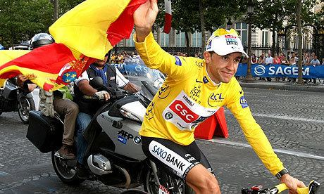 Carlos Sastre Mr Clean Sastre leads way in race to redemption Sport