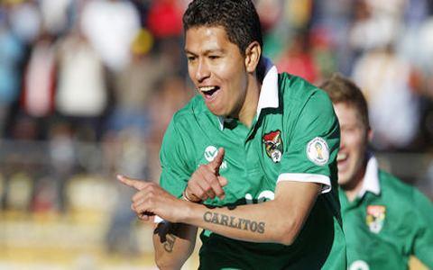 Carlos Saucedo El Saprissa de Costa Rica pretende al delantero boliviano