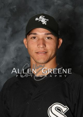 Carlos Sánchez (baseball) Allen Greene Photography Bristol Sox Media Day June 18 2011