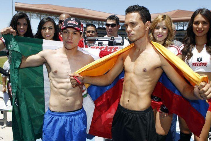 Carlos Tamara PhotosWeights Tyson Marquez vs Carlos Tamara Boxing News