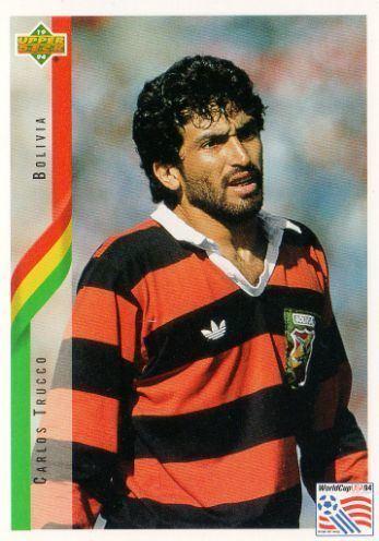 Carlos Trucco BOLIVIA Carlos Trucco 186 Contenders Upper Deck 1994