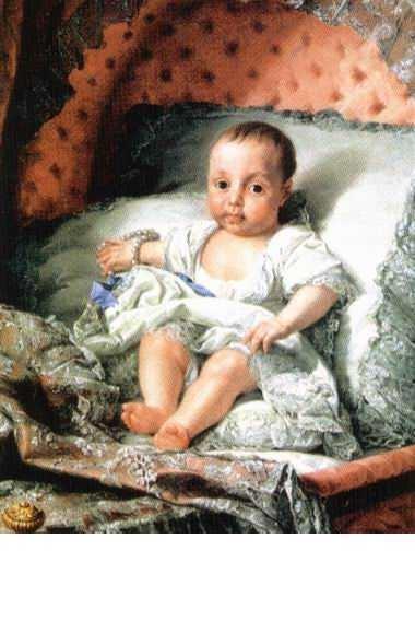 Carlota Joaquina of Spain King D Joao VI The Merciful and Queen D Carlota Joaquina The