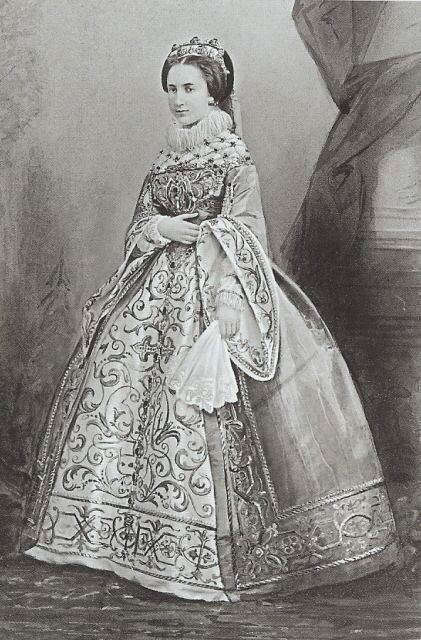 Carlota of Mexico Costumed Charlote Belgium Carlota of Mexico wearing mid