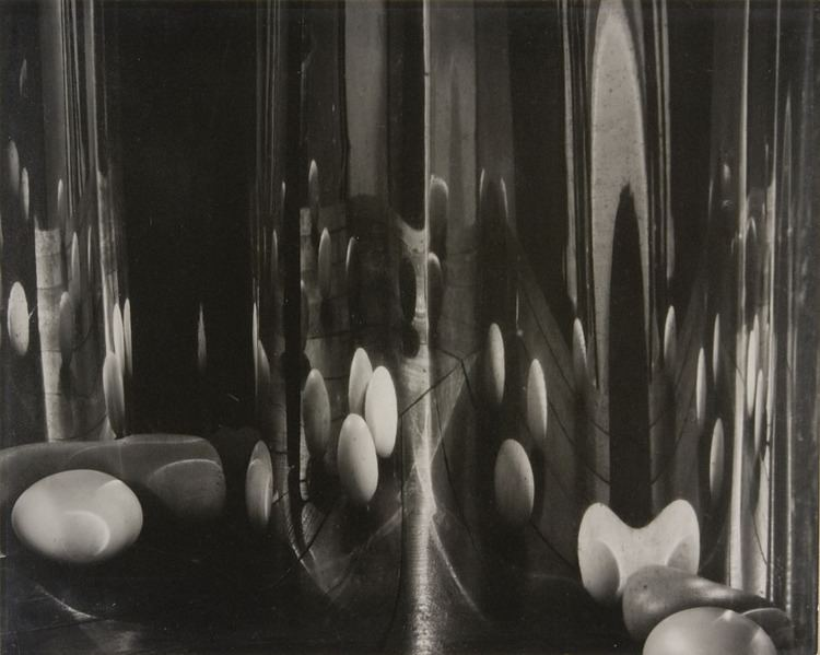 Carlotta Corpron Photo of the Week The Egg Staged Harmonious Reflected and