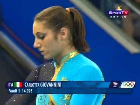Carlotta Giovannini Carlotta Giovannini ITA VT EF Olympic Games Beijing 2008 YouTube