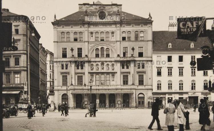 Carltheater Carltheater Historische Bilder IMAGNO Bilder im AustriaForum