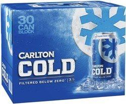 Carlton Cold CARLTON COLD BLOCK BEER MIDSTRENGTH Wine Beer Spirits