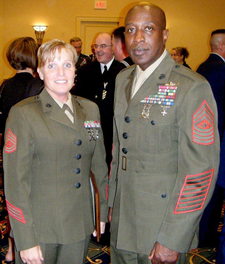 Carlton W. Kent FileGunnery Sgt Camilla Lawson and Sgt of the USMC Carlton Kent