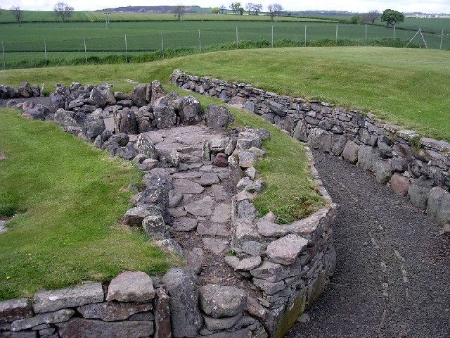 Carlungie and Ardestie earthhouses