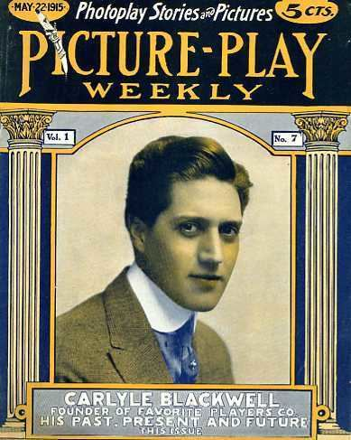 Carlyle Blackwell Carlyle Blackwell Silent Film Star Movie Reviews