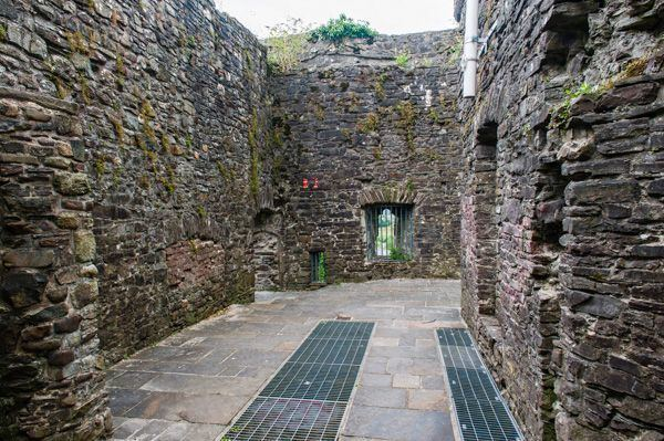 Carmarthen Castle Carmarthen Castle History Travel and accommodation information