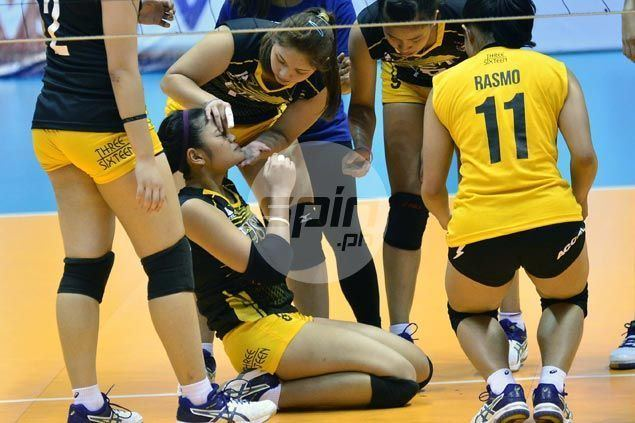 Carmela Tunay Carmela Tunay brought to hospital with bloody nose after colliding