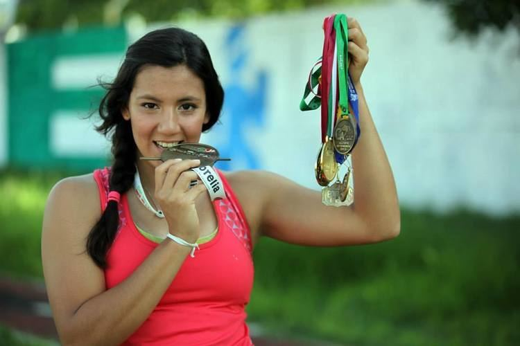 Carmelita Correa Carmelita Correa sin marca olmpica en CDMX
