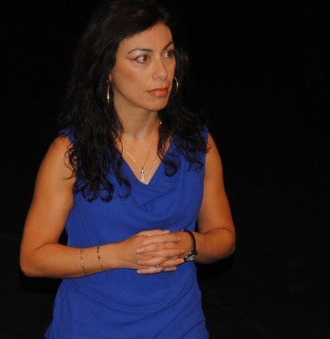Carmen Aguirre Carmen Aguirre39s Blue Box Passionate Performance Uneven