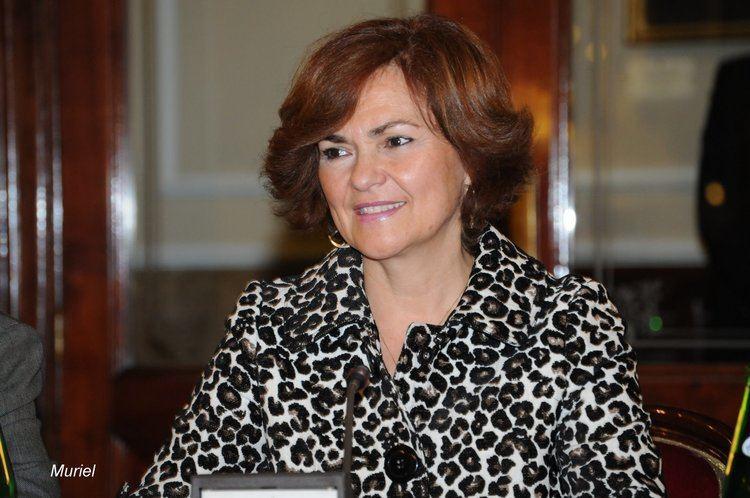 Carmen Calvo Poyato II premios La diputada por el PSOE D Carmen Calvo Poyato ex