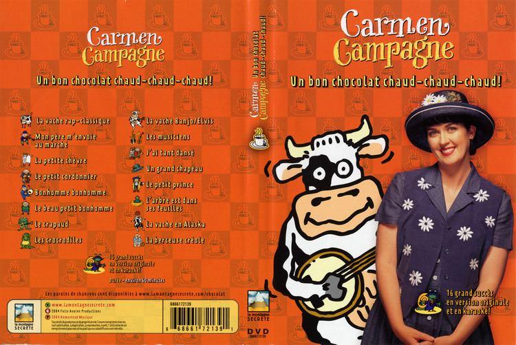 Carmen Campagne Jaquette DVD de Carmen Campagne un bon chocolat chaud