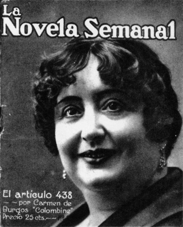 Carmen de Burgos Biografa Carmen de BURGOS SEGU