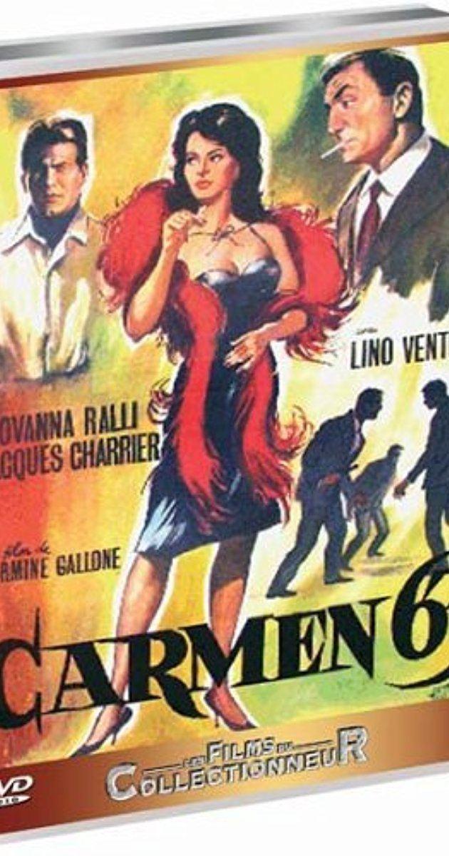Carmen di Trastevere Carmen di Trastevere 1962 IMDb