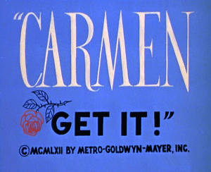 Carmen Get It! movie poster