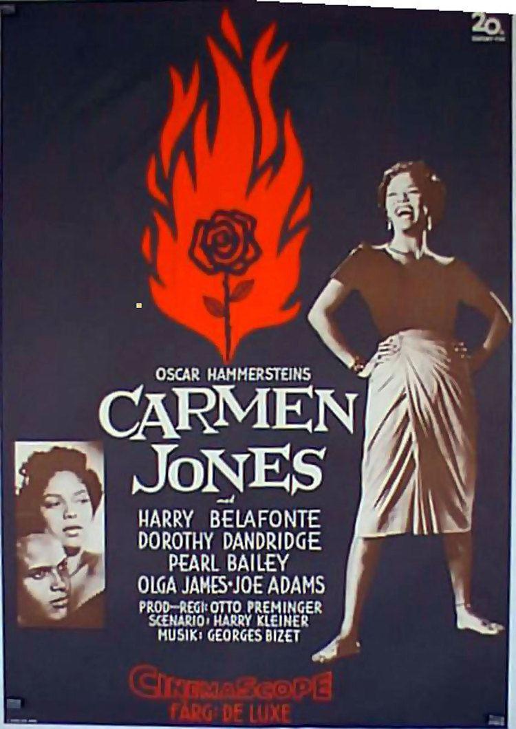 Carmen Jones (film) CARMEN JONES MOVIE POSTER CARMEN JONES MOVIE POSTER