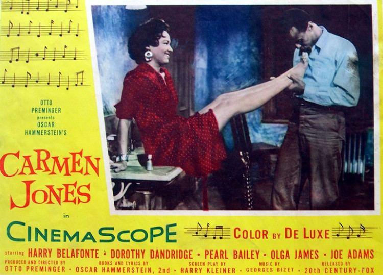 Carmen Jones (film) Carmen Jones The Original Funny Valentine IndieWire