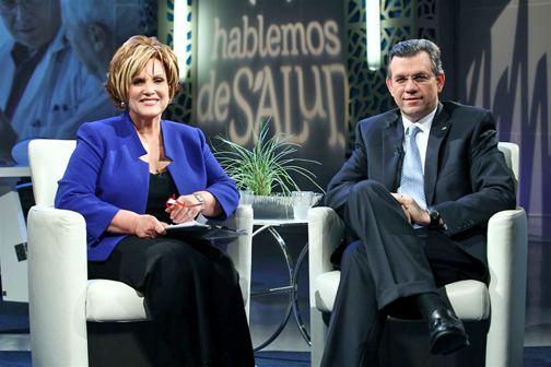 Carmen Jovet TripleS Salud Jovet together in Hablemos de Salud News is my