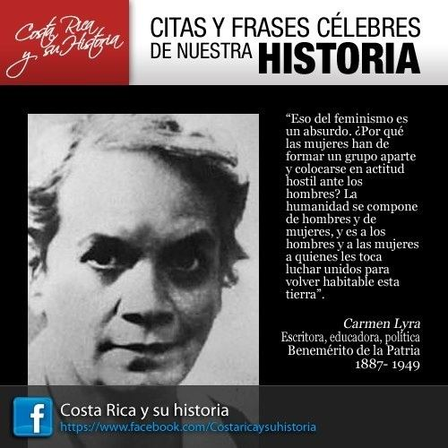 Carmen Lyra Carmen Lyra Citas y Frases Clebres de Costa Rica