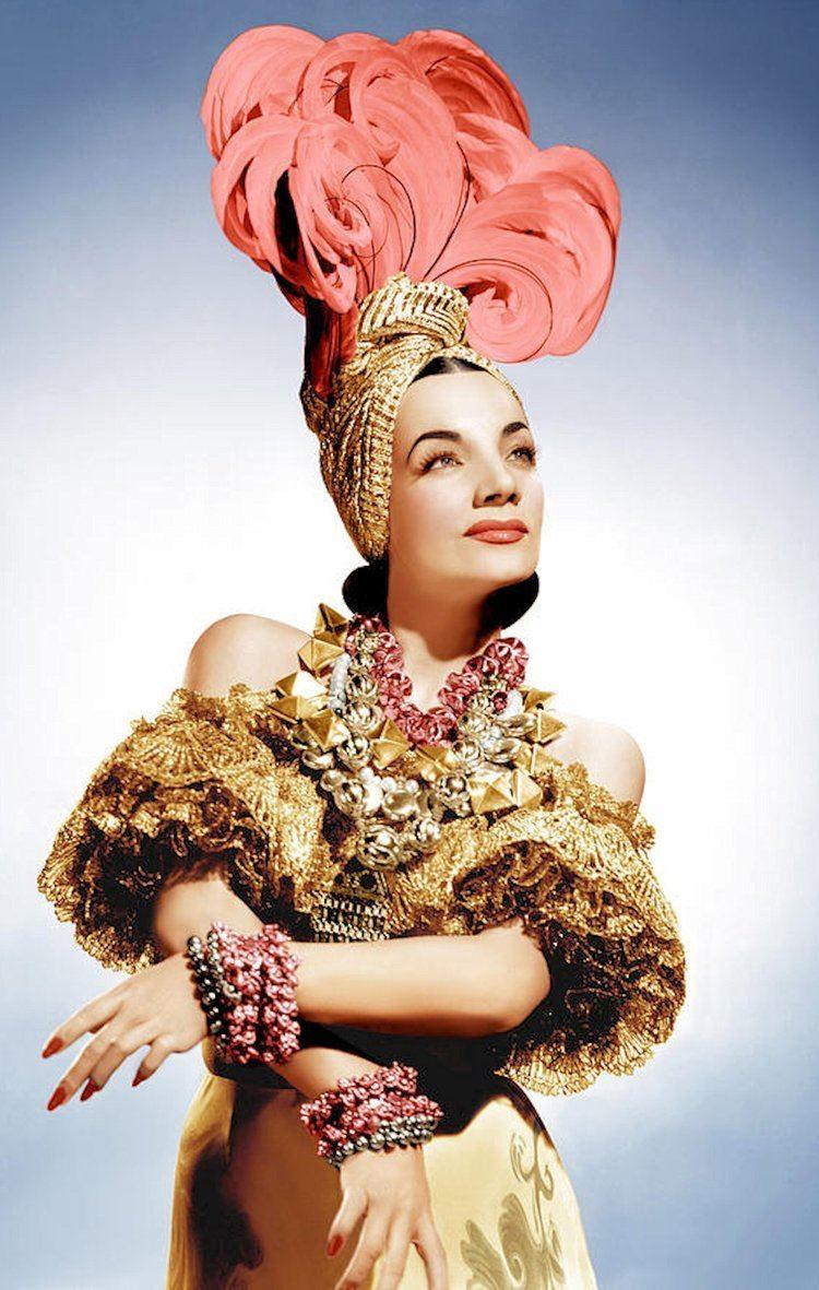 Carmen Miranda Carmen Miranda on Pinterest Charlotte Rampling Mel B