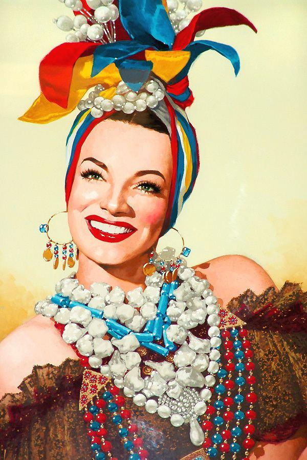 Carmen Miranda Carmen Miranda Paper Dolls Elisenda Llaurado