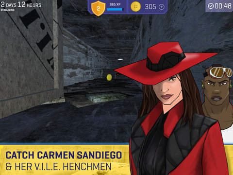 Carmen Sandiego Returns I39ve Found Carmen Sandiego and She39s Up To Her Old VILE Tricks