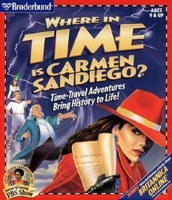 Carmen Sandiego's Great Chase Through Time Carmen Sandiego39s Great Chase Through Time Wikipedia