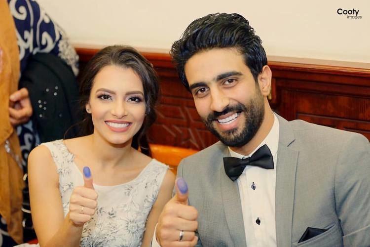Carmen Suleiman Mabrook Arab Idol star Carmen Suleiman ties the knot to Mustafa Jad
