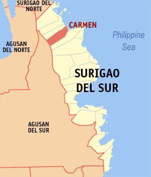 Carmen, Surigao del Sur