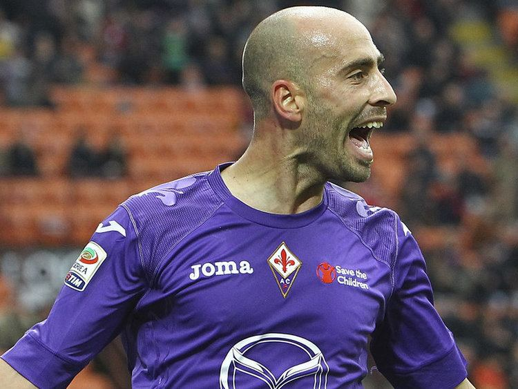 Borja Valero Sempreinter Fiorentina Borja Valero suspended against Inter