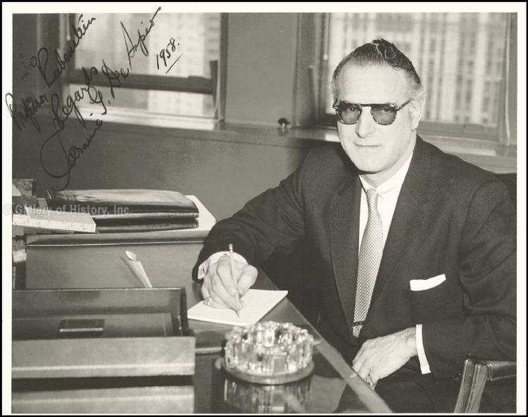 Carmine DeSapio Carmine The Bishop De Sapio Inscribed Photograph Signed 1958