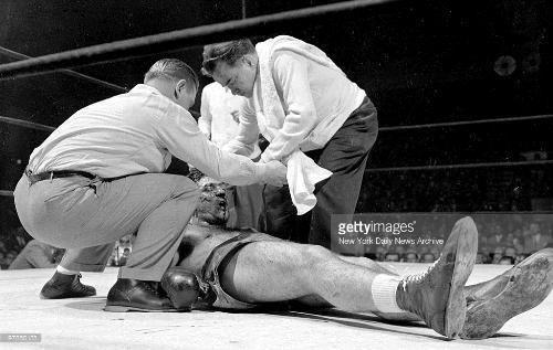 Carmine Vingo Boxing Rocky Marciano versus Carmine Vingo