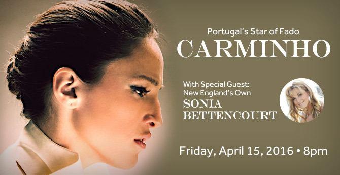 Carminho Portugals Star of FADO CARMINHO Park Theatre Rhode Island