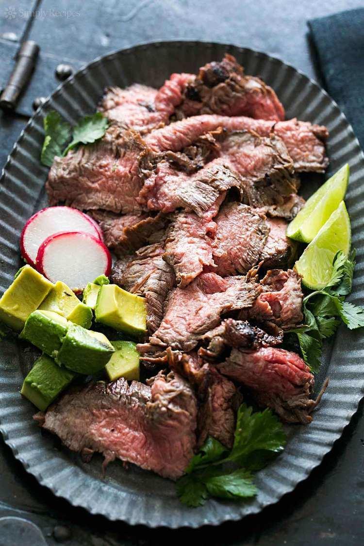 Carne asada Carne Asada Recipe SimplyRecipescom