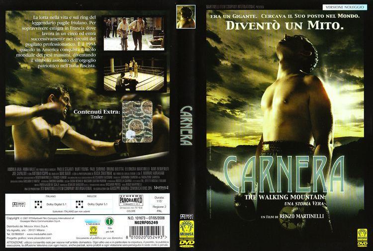 Carnera: The Walking Mountain Copertina dvd Carnera The Walking Mountain cover dvd Carnera