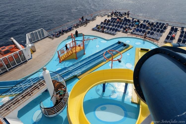 Carnival Ecstasy Activities on the Carnival Ecstasy Something for All Ages Sober